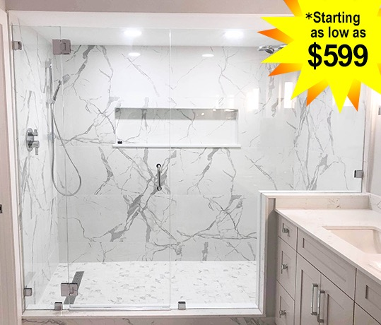 The Original Frameless Shower Doors | America\'s only direct from ...